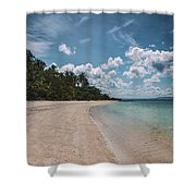 Koh Talu Beach Shower Curtain
