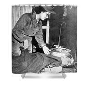 Korean War, 1952 Shower Curtain