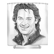 Kurt Russell Shower Curtain