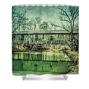 Kymulga Covered Bridge Shower Curtain