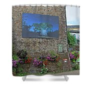 La Gacilly, Morbihan, Brittany, France, Photo Festival Shower Curtain