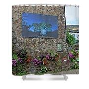La Gacilly, Morbihan, Brittany, France, Photo Festival Shower Curtain