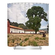 La Purisima Mission II Shower Curtain
