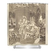 La Soiree Des Thuileries Shower Curtain