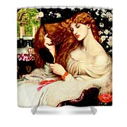 Lady Lilith Shower Curtain