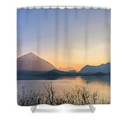 Lake Thun - Switzerland Shower Curtain