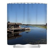 Lake Toho At Kissimmee In Florida Shower Curtain