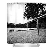 Lake Waubeeka  Shower Curtain