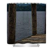 Lake Windermere Cumbria Shower Curtain