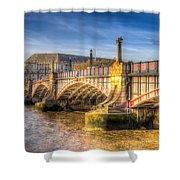 Lambeth Bridge London Shower Curtain