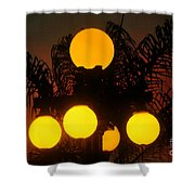 Lamppost Shower Curtain