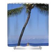 Lanai, Manele Bay Shower Curtain