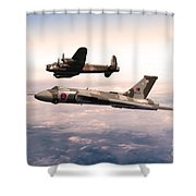 Lancaster And Vulcan Shower Curtain