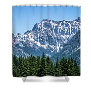 Landscape Nature Scenes Around Columbia River Washington State A Shower Curtain