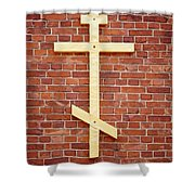 Lappeenranta Fortress Orthodox Church Shower Curtain