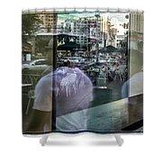 Las Vegas Strip 0312 Shower Curtain