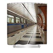 Last Train Home Shower Curtain