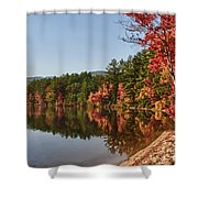 Late Afternoon On Lake Chocorua Shower Curtain
