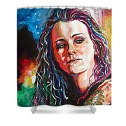 Laura Jane Grace Shower Curtain