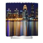 Lavender Louisville Shower Curtain