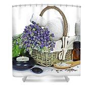 Lavender Spa Shower Curtain