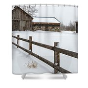 Lawr Farm Shower Curtain