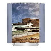 Lazy Day At The Beach Shower Curtain