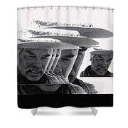 Lee Marvin Monte Walsh Variation 2 Old Tucson Arizona 1969-2012 Shower Curtain