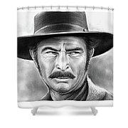 Lee Van Cleef Shower Curtain