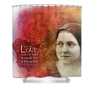 Let Us Love II Shower Curtain