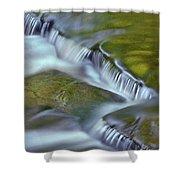 Letchworth Falls Sp Wolfe Creek Shower Curtain