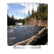 Lewis Falls Shower Curtain