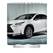 Lexus Nx 300h F Sport 2014 1920x1200 010 Shower Curtain