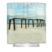 Life Of A Pier Shower Curtain