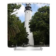 Lighthouse - Key West Shower Curtain