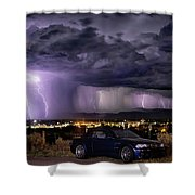 Lightning Storm Shower Curtain