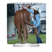 Lil' Cowgirl Shower Curtain