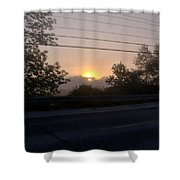 Lilac Dawn Shower Curtain