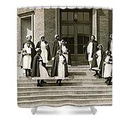 Lincoln School For Nurses Shower Curtain
