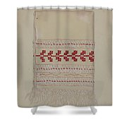 Linen Towel Shower Curtain