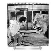 Lion Tamer, 1930s Shower Curtain