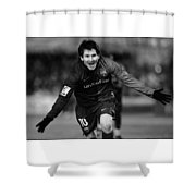 Lionel Messi 1 Shower Curtain