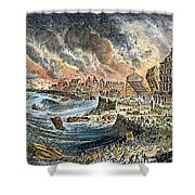 Lisbon Earthquake, 1755 Shower Curtain