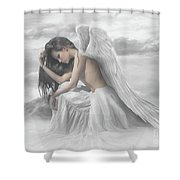 Living In The Past Shower Curtain