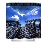 Lloyd's Of London And Cheese Grater Shower Curtain
