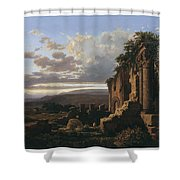 Lluis Rigalt Shower Curtain