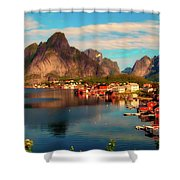 Lofoten, Norway Shower Curtain