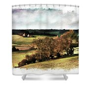 Loire Valley Shower Curtain