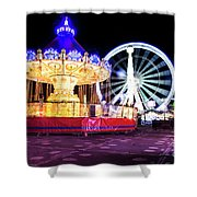 London Christmas Markets 15 Shower Curtain