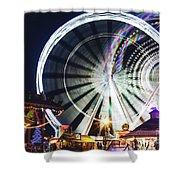 London Christmas Markets 16 Shower Curtain